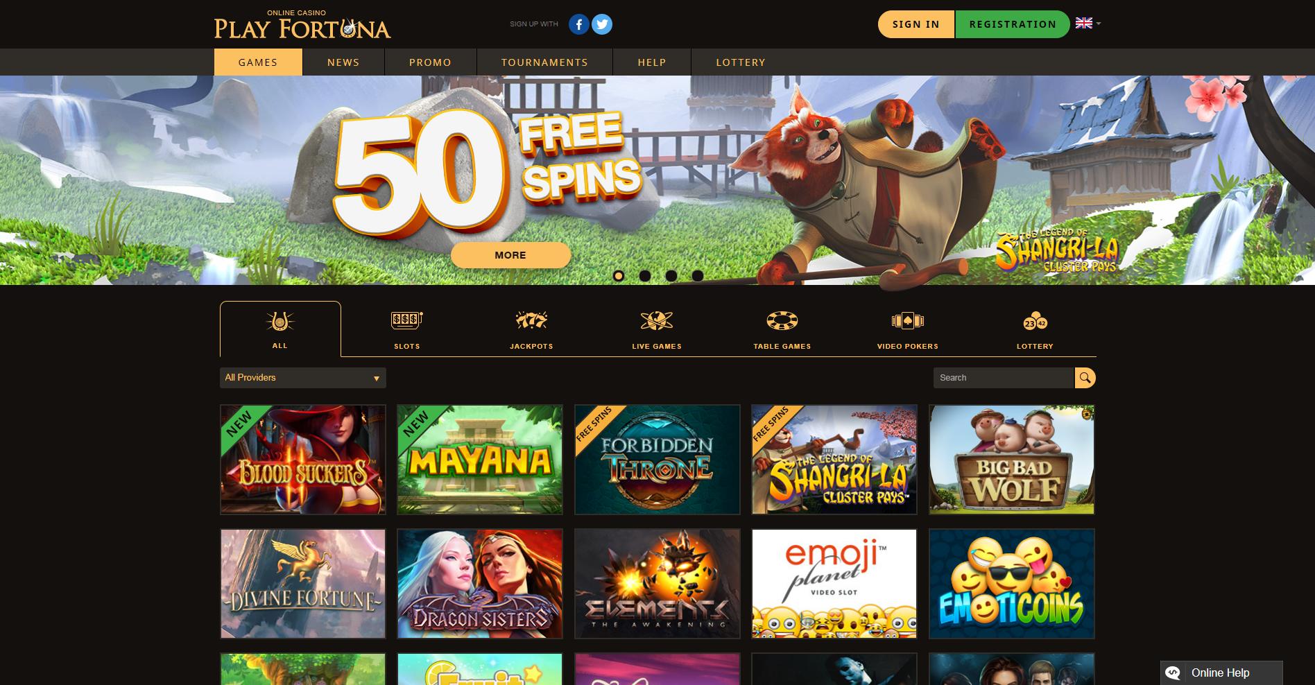 Play Fortuna бонусы для новичков
